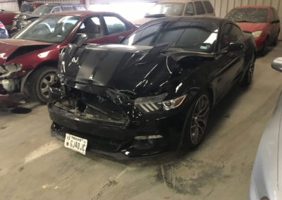 Texas Body Shop wrecked vehicle photo